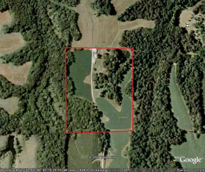 40 Acres Hunting Land For Sale in Fulton County, Illinois #100312