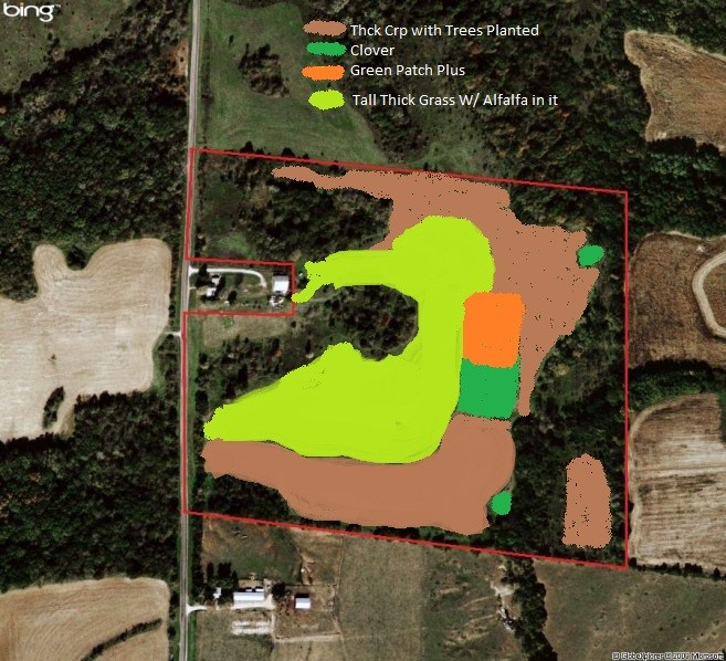 46 Acres Hunting Land For Sale in Pike County, Illinois