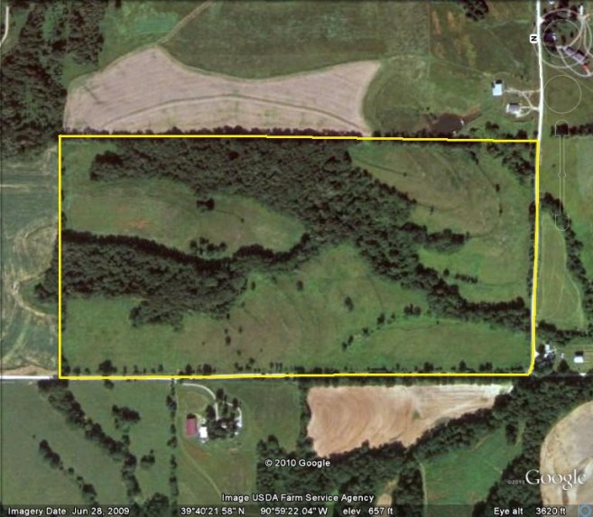 80 Acres Hunting Land For Sale in Pike County, Illinois