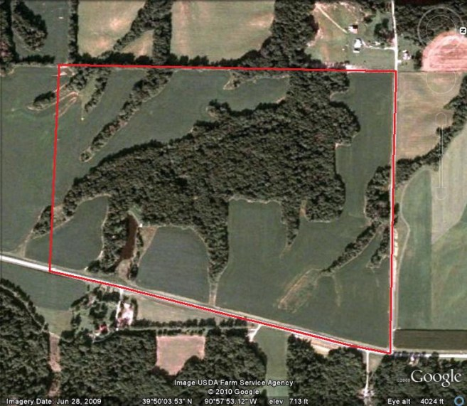 120 Acres Hunting Land For Sale in Adams County, Illinois