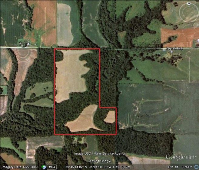 85 Acres Hunting Land For Sale In Pike County, Illinois #04654172